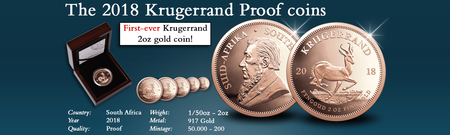 The 2018 Proof Krugerrands - Modern Numismatics International