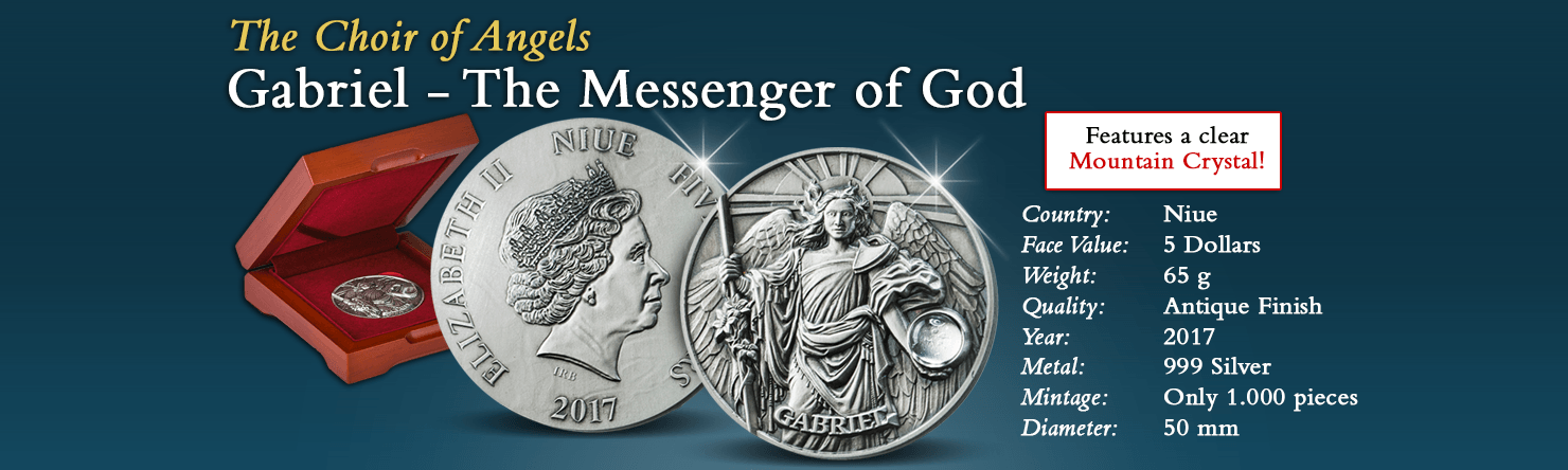 Choir of Angels Gabriel - Modern Numismatics International